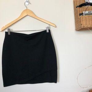 Black Layered Skirt Aritzia